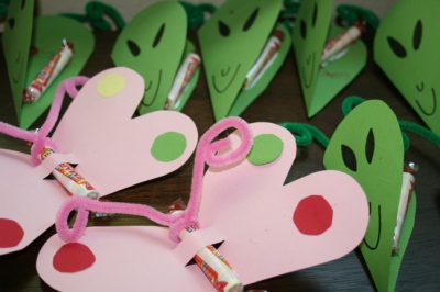DIY Valentine Making